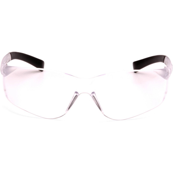 Pyramex Mini Ztek Safety Glasses with Clear Lens S2510SN Front View