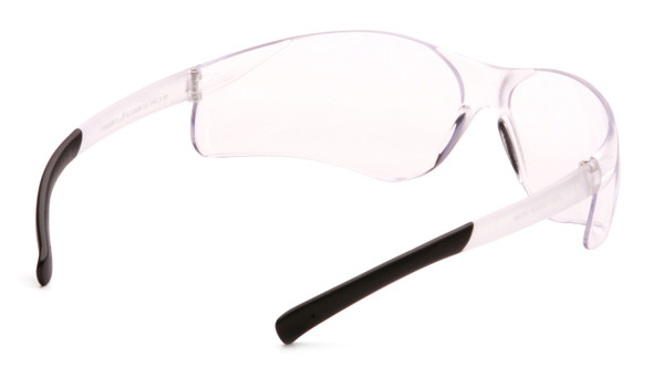 Pyramex Ztek Safety Glasses with Clear Anti-Fog Lens S2510ST Inside View