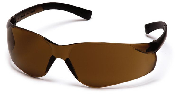 Pyramex Ztek Safety Glasses with Coffee Lens