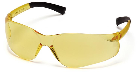 Pyramex Ztek Safety Glasses with Amber Lens S2530S