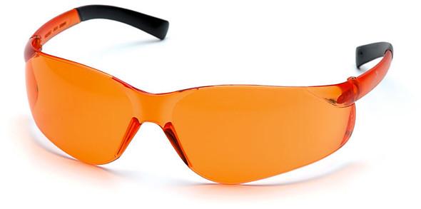 Pyramex Ztek Safety Glasses with Orange Lens S2540S