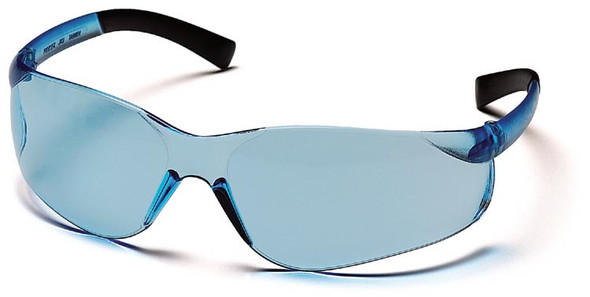 Pyramex Ztek Safety Glasses with Infinity Blue Lens