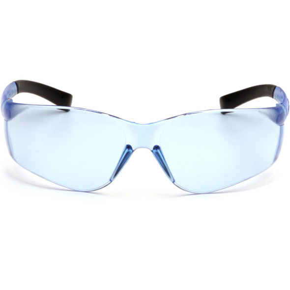 Pyramex Mini Ztek Safety Glasses with Infinity Blue Lens S2560SN Front View