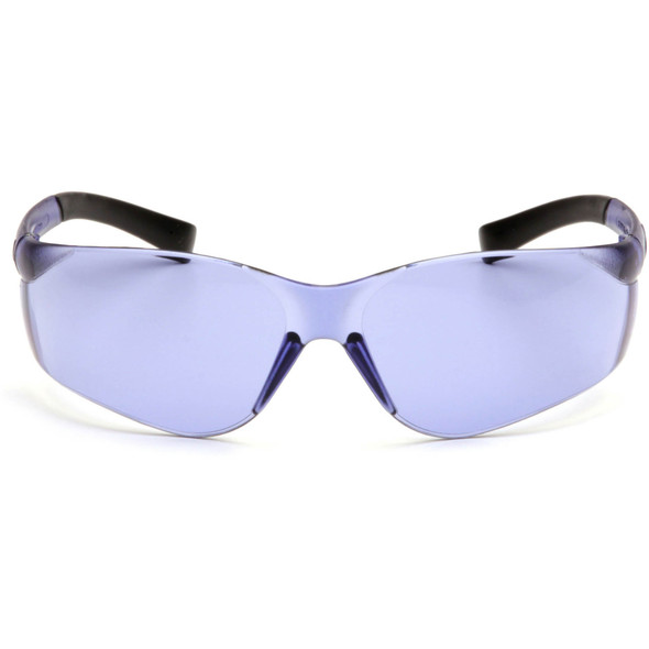 Pyramex Ztek Safety Glasses with Purple Haze Lens S2565S Front View