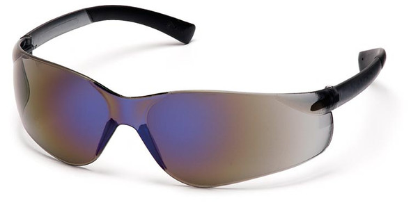 Pyramex Ztek Safety Glasses with Blue Mirror Lens