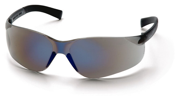 Pyramex Mini Ztek Safety Glasses with Blue Mirror Lens S2575SN