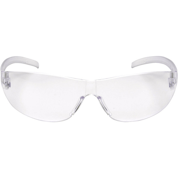 Pyramex Alair Safety Glasses with Clear Anti-Fog Lens S3210ST Front View