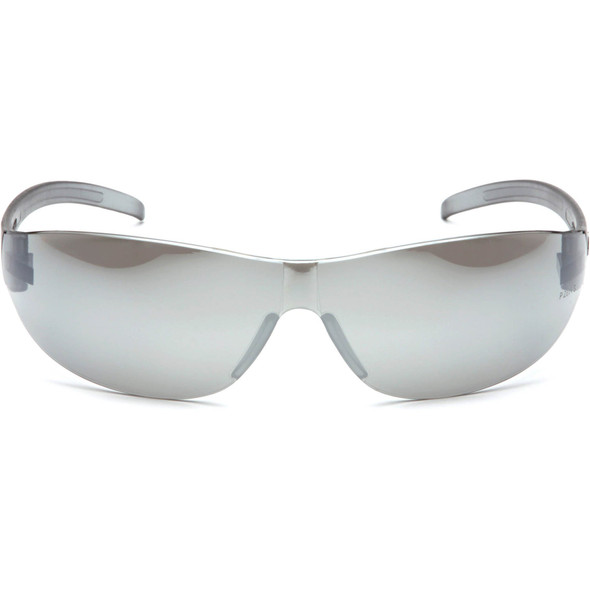 Pyramex Alair Safety Glasses with Silver Mirror Lens S3270S Front View