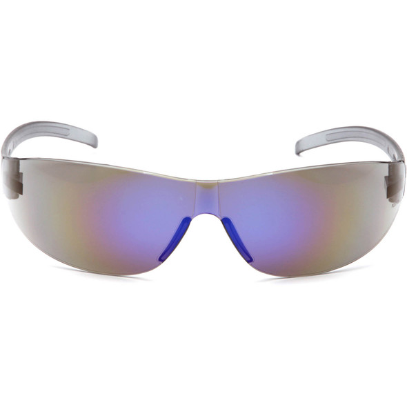 Pyramex Alair Safety Glasses with Blue Mirror Lens S3275S Front View