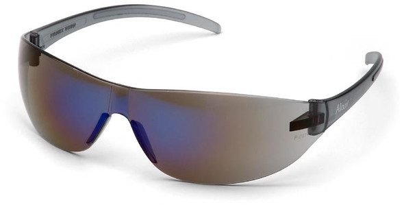 Pyramex Alair Safety Glasses with Blue Mirror Lens