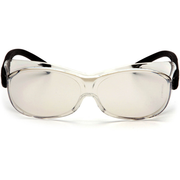 Pyramex OTS S3580SJ Over-The-Glass Safety Glasses with Indoor/Outdoor Lens Front View
