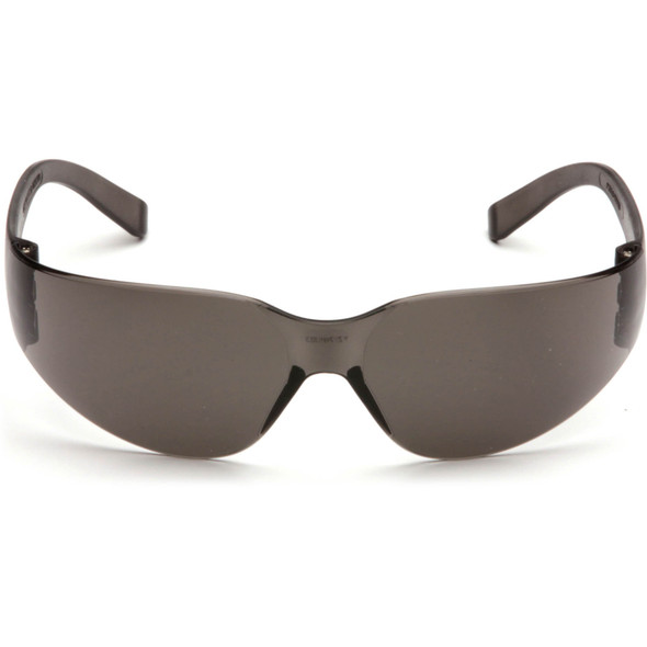 Pyramex Mini Intruder Safety Glasses with Gray Lens S4120SN Front View