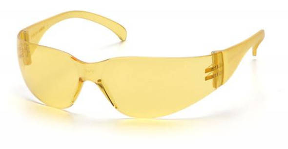 Pyramex Intruder Safety Glasses with Amber Lens