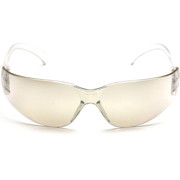 Pyramex Intruder Safety Glasses with Indoor/Outdoor Lens S4180S Front View