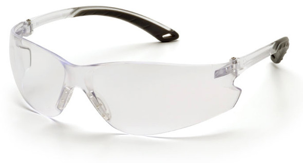Pyramex Itek Safety Glasses with Clear Anti-Fog Lens S5810ST