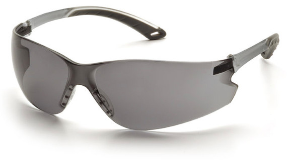 Pyramex Itek Safety Glasses with Gray Anti-Fog Lens