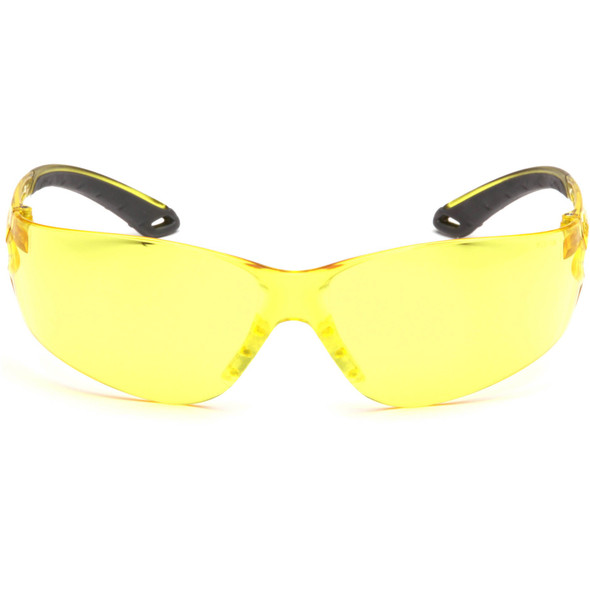 Pyramex Itek Safety Glasses with Amber Lens S5830S Front View