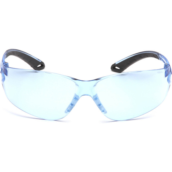 Pyramex Itek Safety Glasses with Infinity Blue Lens S5860S Front View