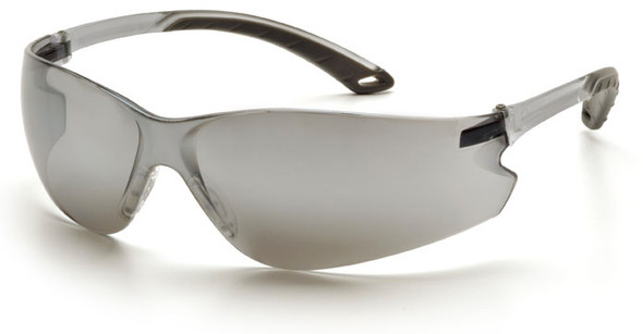 Pyramex Itek Safety Glasses with Silver Mirror Lens S5870S