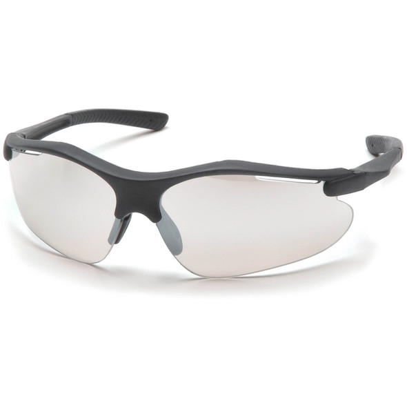 Pyramex Fortress Safety Glasses with Black Frame and Indoor/Outdoor Lens SB3780D