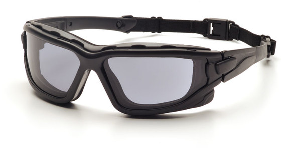 Pyramex I-Force Safety Goggle/Glasses with Black Frame and Gray Anti-Fog LensesPyramex I-Force Safety Goggle/Glasses with Black Frame and Gray Anti-Fog Lenses