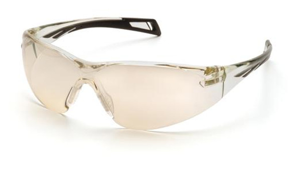 Pyramex PMXSlim Safety Glasses with Black Temples and Indoor/Outdoor Lens SB7180S