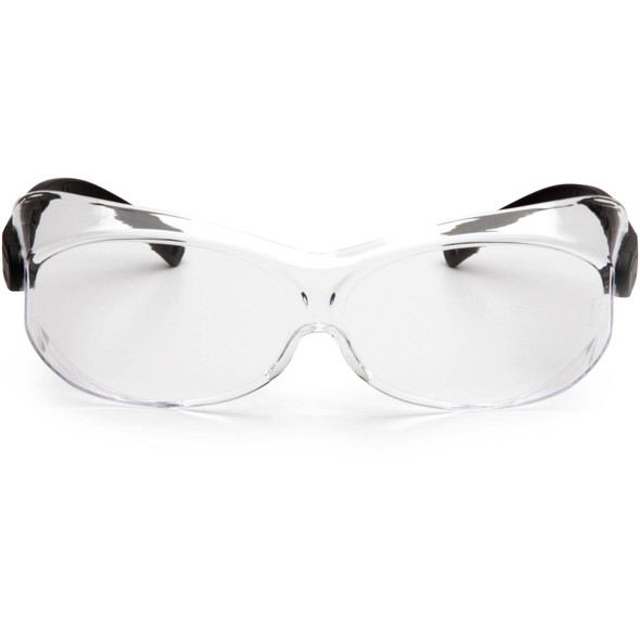 Pyramex OTS XL S7510SJ Over-Prescription Safety Glasses with Large Clear Lens Front View
