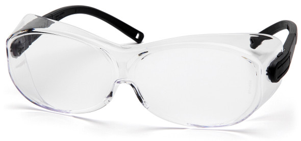 Pyramex OTS XL Over-Prescription Safety Glasses with Large Clear Anti-Fog Lens S7510STJ