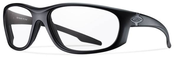 Smith Elite Chamber Tactical Ballistic Safety Glasses with Black Frame and Clear Lens