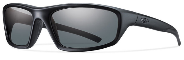 Smith Elite Director Tactical Ballistic Sunglasses with Black Frame and Polarized Gray Lens