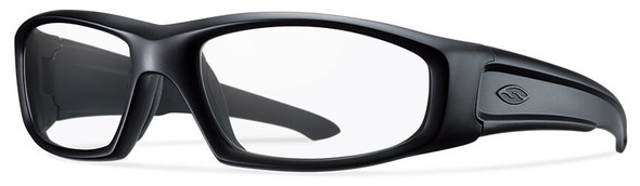 Smith Elite Hudson Tactical Ballistic Safety Glasses with Black Frame and Clear Lens