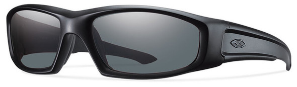 Smith Elite Hudson Tactical Ballistic Sunglasses with Black Frame and Polarized Gray Lens