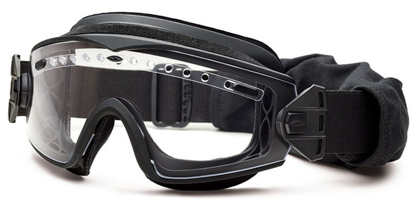 Smith Elite LoPro Regulator Tactical Goggle Kit with Black Frame and Clear and Gray Lenses