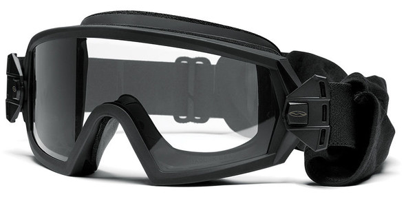 Smith Elite Outside The Wire Military Goggle with Black Frame and Clear and Gray Lenses