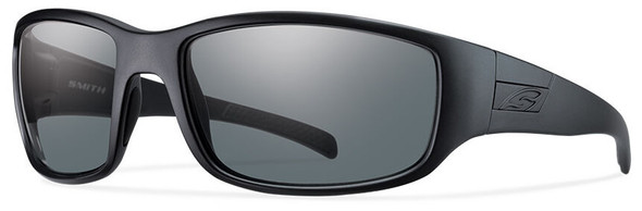 Smith Elite Prospect Tactical Ballistic Sunglasses with Black Frame and Polarized Gray Lens