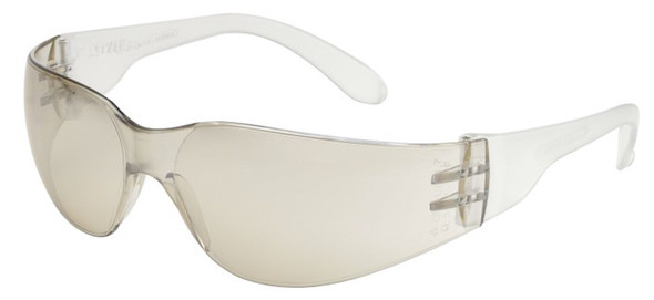 Elvex TTS Safety Glasses with Black Temples and Indoor/Outdoor Lens