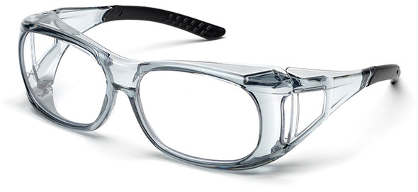 Elvex OVR-Spec II Safety Glasses with Translucent Frame and Clear Lens SG-37C