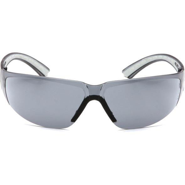 Pyramex Cortez Safety Glasses Gray Temples Gray Lens SG3620S Front