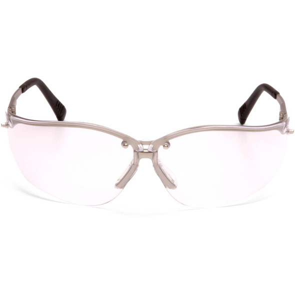Pyramex V2 Metal Safety Glasses with Clear Lens SGM1810S Front