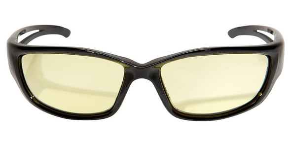 Edge Kazbek XL Safety Glasses with Yellow Lens - Front