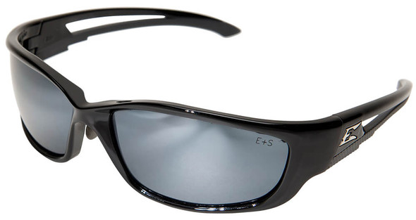 Edge Kazbek XL Safety Glasses with Silver Mirror Lens