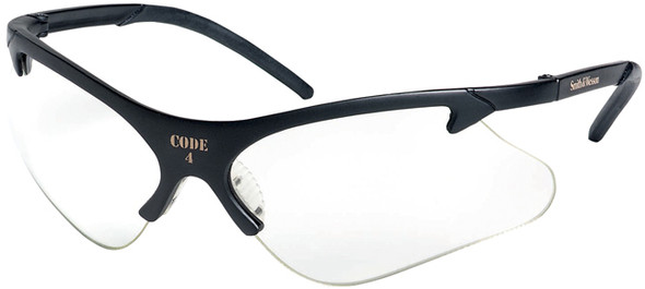 Smith & Wesson Code 4 Safety Glasses with Clear Lenses