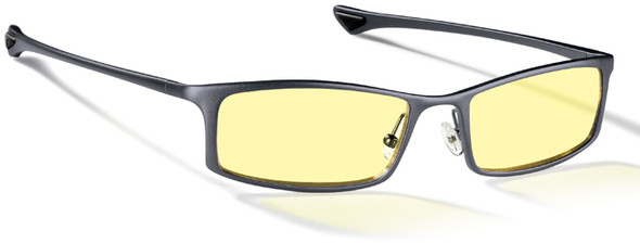 Gunnar Phenom Computer Glasses with Graphite Frame and Amber Lens