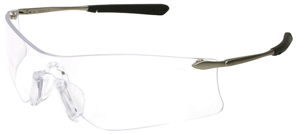 Encon Veratti 429 Safety Glasses with Gray Temple Accent and Amber Anti-Fog Lens