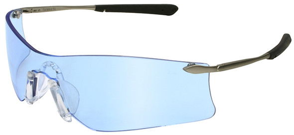 Crews Rubicon Safety Glasses with Light Blue Anti-Fog Lens T4113AF