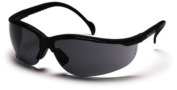 Pyramex Venture 2 Safety Glasses Black Frame Gray Lens SB1820S