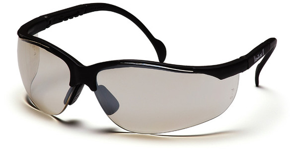 Pyramex Venture 2 Safety Glasses Black Frame Indoor/Outdoor Lens SB1880S
