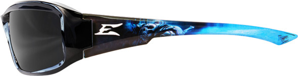 Edge Brazeau Designer Series with Black Apocalypse2 Frame and Smoke Lens - Side View