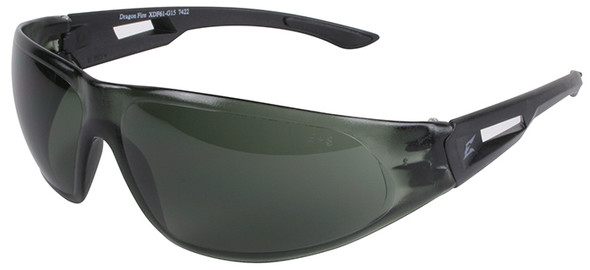 Edge Tactical Eyewear Dragon Fire Safety Glasses G-15 Anti-Fog Lens