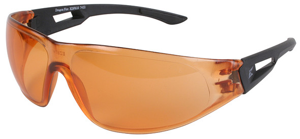Edge Dragon Fire Tactical Safety Glasses with Tiger's Eye Lens